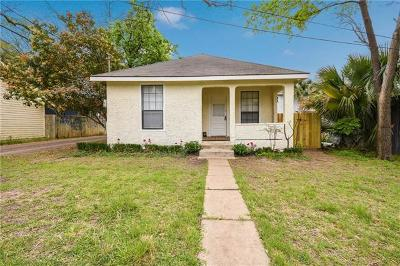 Austin Single Family Home Pending - Taking Backups: 403 W 44th St