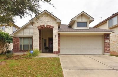 San Marcos Single Family Home For Sale: 134 Old Settlers Dr