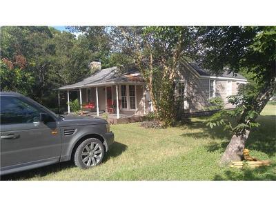 Buda Single Family Home Pending - Taking Backups: 220 N Austin St