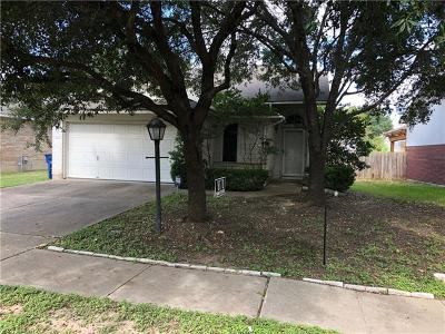 Hays County, Travis County, Williamson County Single Family Home Pending - Taking Backups: 1410 Merchants Tale Ln