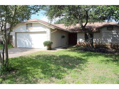 Austin Single Family Home For Sale: 4702 Saloma Pl