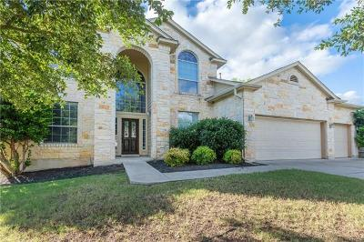 Round Rock Single Family Home For Sale: 2920 Todd Trl