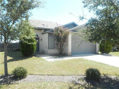 Hutto Single Family Home For Sale: 320 Wimberley St