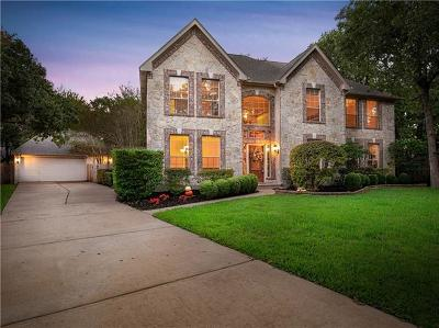 Round Rock Single Family Home Pending - Taking Backups: 2405 Berwick Cv