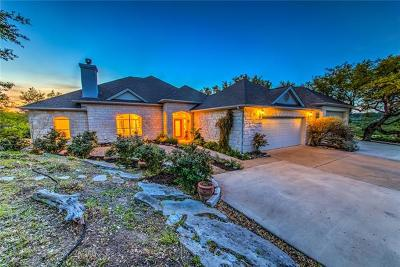 Marble Falls Single Family Home For Sale: 26040 Montana Creek Xing