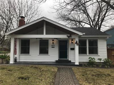 Travis County Single Family Home Pending - Taking Backups: 4013 Ramsey Ave