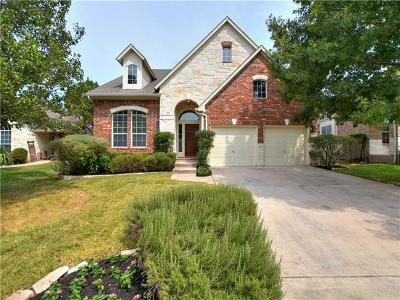 Cedar Park Single Family Home For Sale: 2111 Burnie Bishop Pl