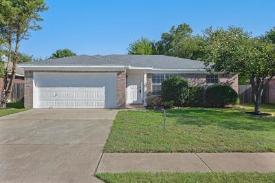 Round Rock Single Family Home Pending - Taking Backups: 2419 Wisteria Way