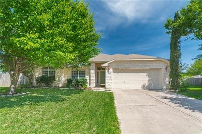 Pflugerville Single Family Home Pending - Taking Backups: 1500 Campanula Ct