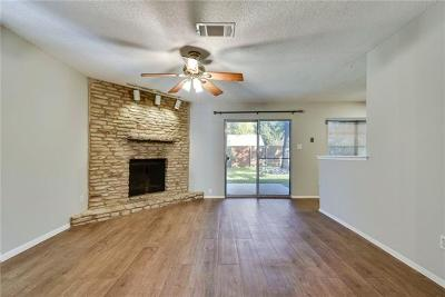 Round Rock Single Family Home For Sale: 1006 Long Meadow Dr