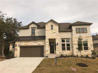 Spicewood Single Family Home For Sale: 2605 Sunset Vista Cir