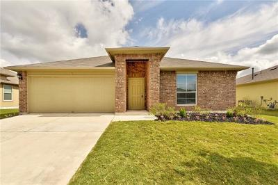 Hutto Single Family Home For Sale: 317 Foxglove Dr