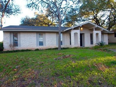 Austin Rental For Rent: 7101 Twisted Oaks Dr