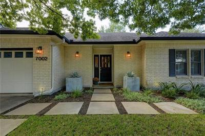 Travis County Single Family Home Pending - Taking Backups: 7002 Wheeler Branch Trl