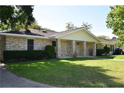 Round Rock Single Family Home For Sale: 1608 Robb Ln