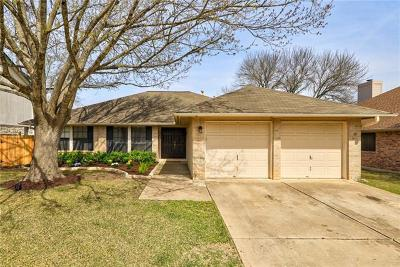 Cedar Park Single Family Home For Sale: 1903 Old Mill Rd