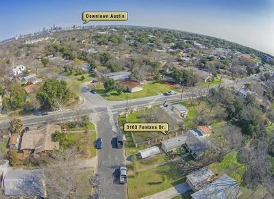 Austin Residential Lots & Land Pending - Taking Backups: 3103 Fontana Dr