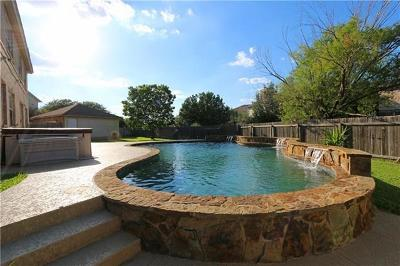 Cedar Park Single Family Home Pending - Taking Backups: 1502 Somerset Canyon Ln