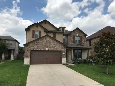 Cedar Park Single Family Home For Sale: 107 Outpost Cv