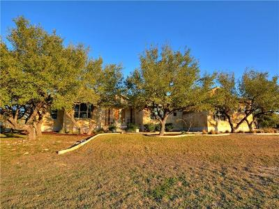 Dripping Springs Single Family Home For Sale: 617 Canyon Rim Dr