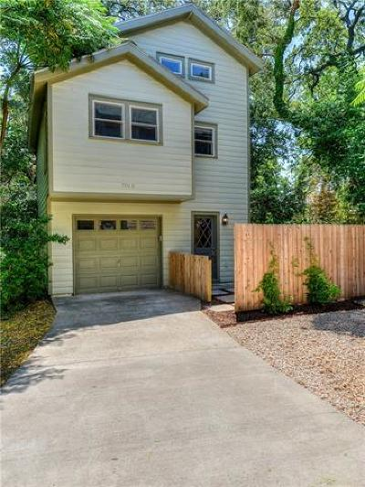 Austin Single Family Home For Sale: 701 Oakland Ave #B