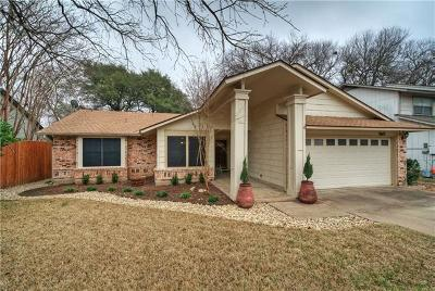 Austin Single Family Home For Sale: 11607 Fence Post Trl