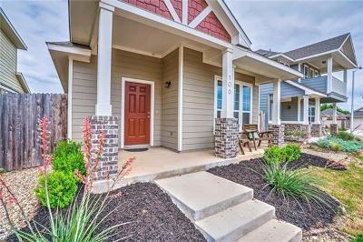 San Marcos Single Family Home Pending - Taking Backups: 106 Gambel Oak Way