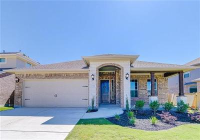 Leander Single Family Home For Sale: 3004 Scout Pony Dr