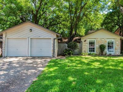 Travis County, Williamson County Single Family Home For Sale: 10103 Woodland Village Dr
