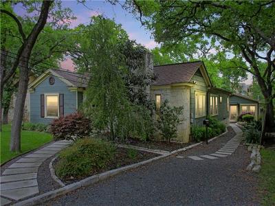 Austin Single Family Home For Sale: 3909 Willbert Rd
