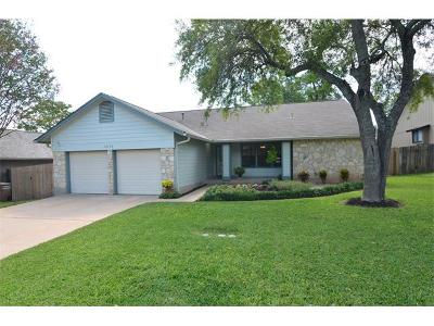 Austin Single Family Home For Sale: 12403 Blossomwood Dr
