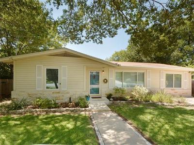 Austin Single Family Home Pending - Taking Backups: 5912 Aurora Dr