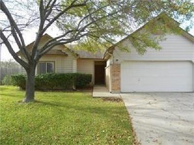 Round Rock Single Family Home Pending - Taking Backups: 1904 Purple Sage