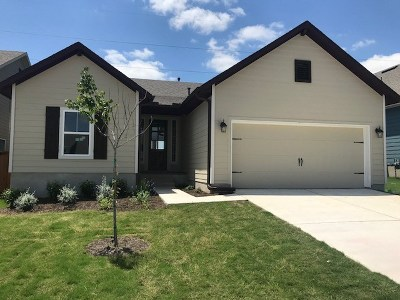 Liberty Hill Single Family Home For Sale: 137 Wild Sage Lane