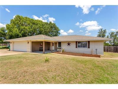 Lago Vista Single Family Home For Sale: 3806 Annapolis Cv