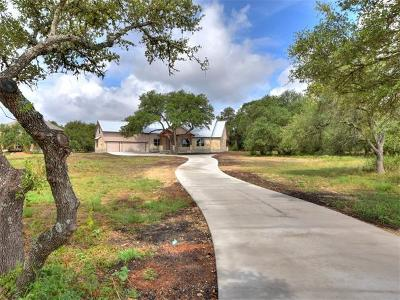 Dripping Springs Single Family Home For Sale: 32801 Ranch Road 12