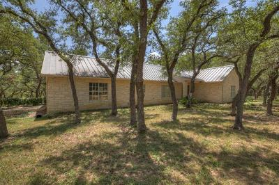 Wimberley Single Family Home For Sale: 602 Ledgerock Rd