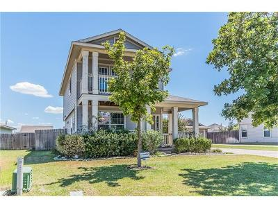 Round Rock Single Family Home For Sale: 2405 Bluffstone Dr