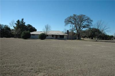 Leander Single Family Home For Sale: 1201 Seward View Rd
