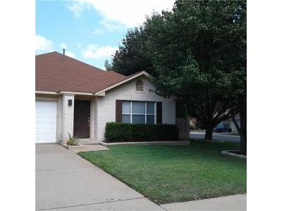 Cedar Park Single Family Home Active Contingent: 1601 Eagle Wing Dr