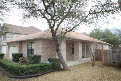 Cedar Park Single Family Home For Sale: 1802 Continental Pass