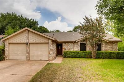Round Rock Single Family Home Pending: 2610 Oak Meadow Dr