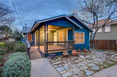 Austin Single Family Home For Sale: 502 Delmar Ave