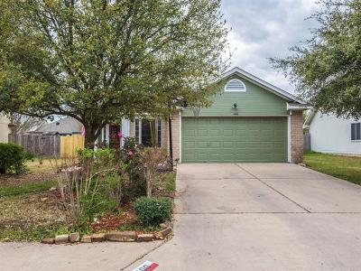 Leander Single Family Home Pending - Taking Backups: 1406 Rio Bravo Loop