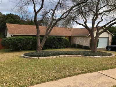 Travis County Single Family Home Pending - Taking Backups: 1503 Barn Swallow Dr