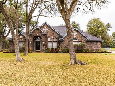 Buda Single Family Home For Sale: 1124 Live Oak Loop