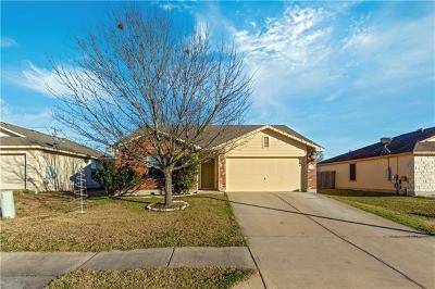 Hutto Single Family Home For Sale: 110 Wiley St