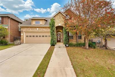 Cedar Park Single Family Home For Sale: 1008 Walsh Hill Trl