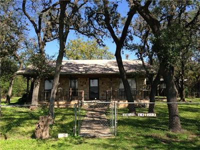 Leander Single Family Home For Sale: 1851 County Road 280