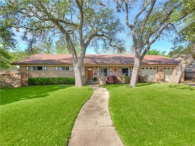 Austin Single Family Home For Sale: 3911 Sierra Dr